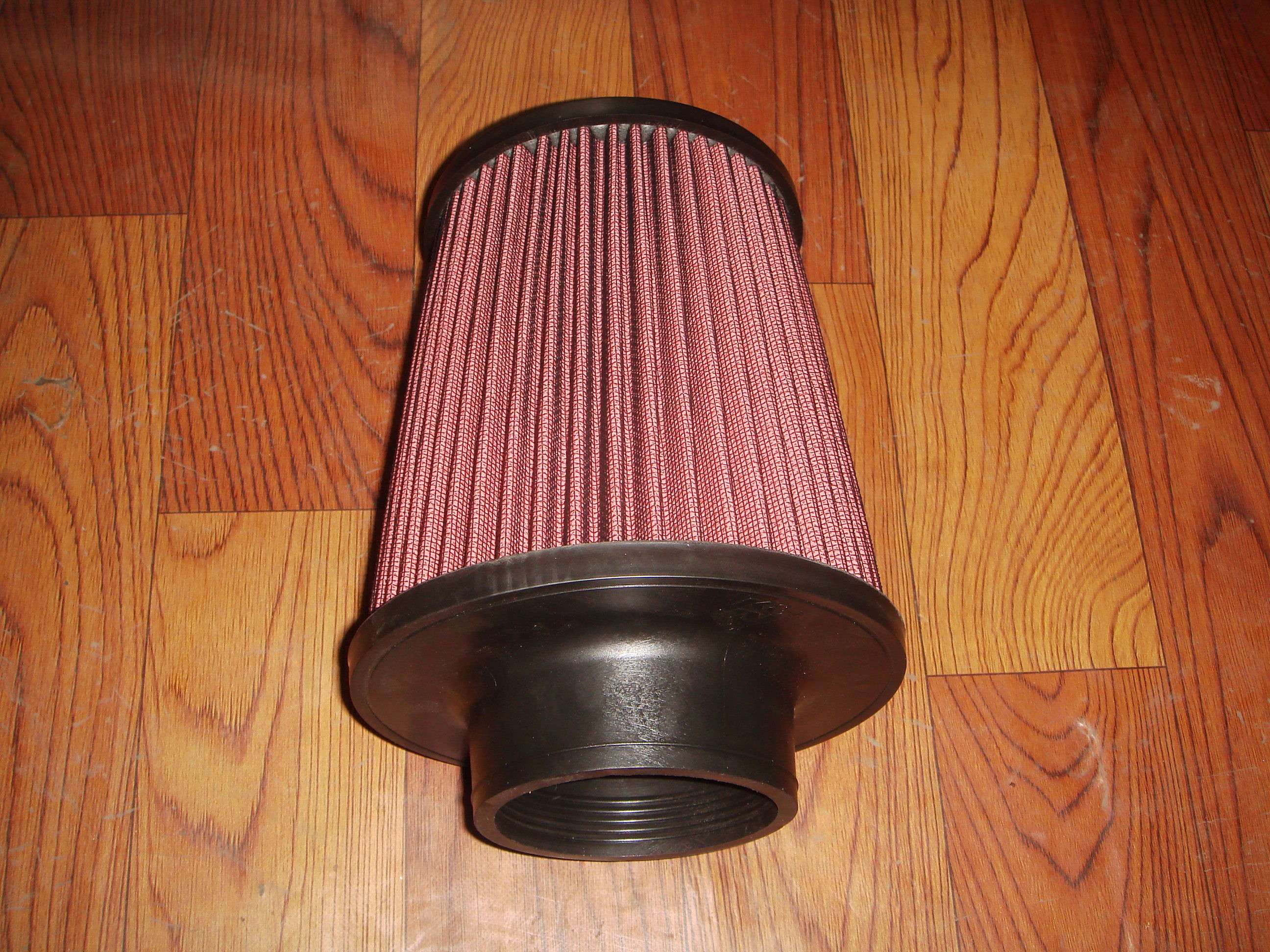 Racing Auto Air Filters Upper And Lower With Rubber Cover / k And n Air Intake Filter